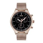 Hugo Boss Mens' Companion Chronograph Watch 1513548
