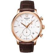 Tissot Traditional Chronograph Watch T063.617.36.037.00
